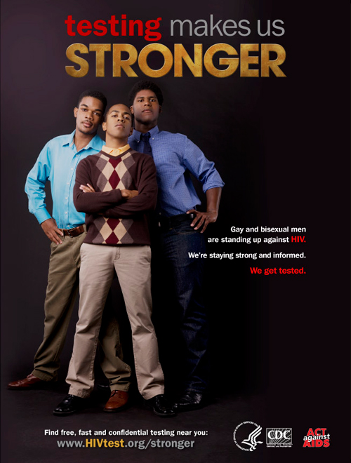 'Testing Makes Us Stronger' Campaign: Marketing HIV Services to the African-American Male